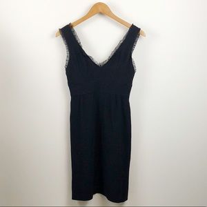 Nanette Lenore Black V-Neck Dress Size 4